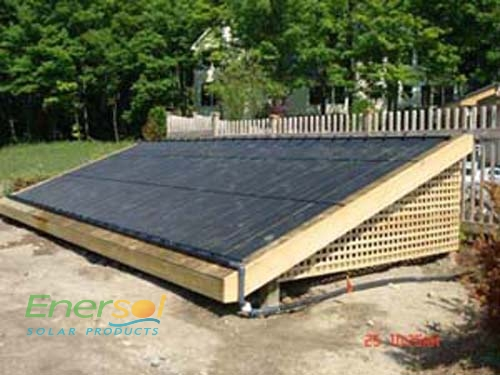 Ottawa Valley Photovoltaic Solar Hot Water Heating